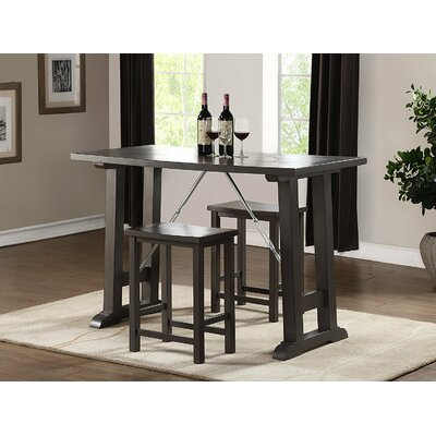 Toombs 3 Piece Dining Bar Set