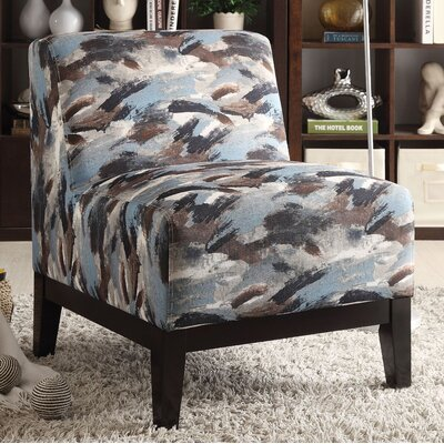 Gess Fabric Slipper Chair Upholstery: Multi-Color Pattern