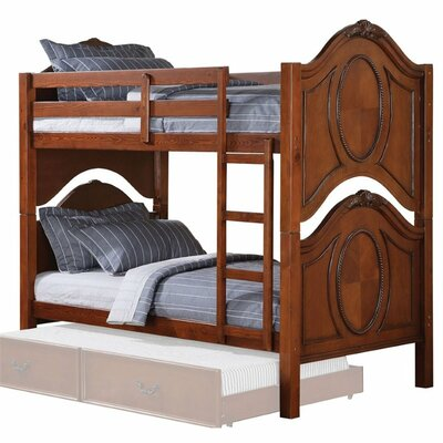 Eaglin Convertible Twin Over Twin Bunk Bed
