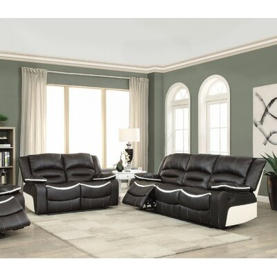 Muniz Motion 2 Piece Living Room Set