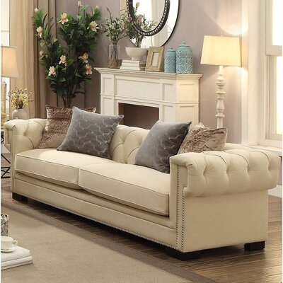 Lesure Sofa Upholstery: Cream