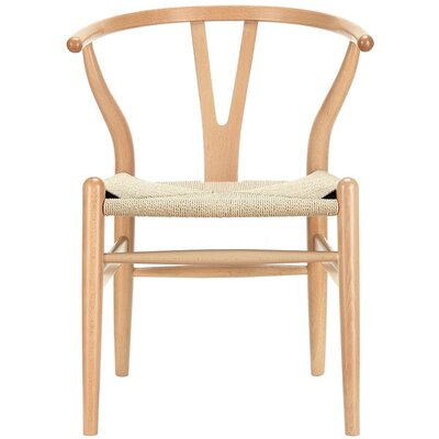 Wishbone Side Chair Finish: Natural