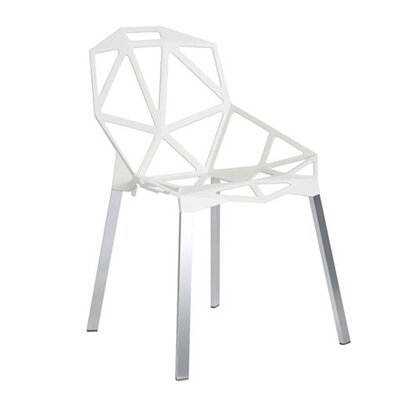Web Side Chair Finish: White