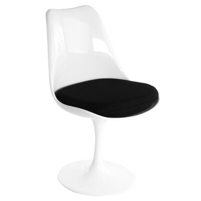 Modern Side Chair Upholstery: Black