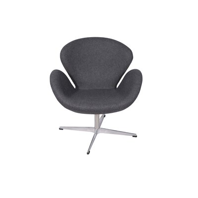 Swan Lounge Chair Upholstery: Gray