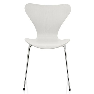 Jacobson Side Chair Upholstery: White