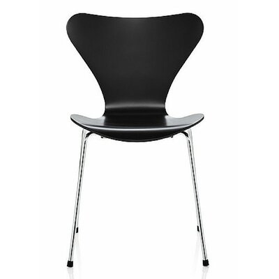 Jacobson Side Chair Upholstery: Black