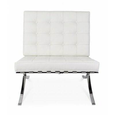 Pavillion Slipper Chair Upholstery: White