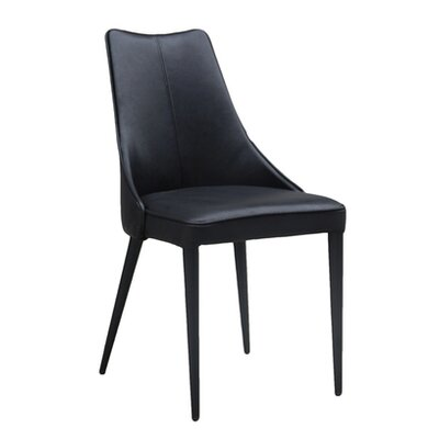 Bedoya Lebron Parsons Chair Upholstery: Black