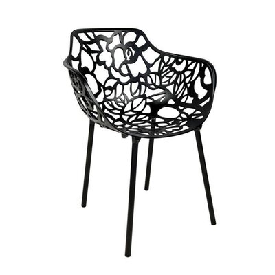 Tree Arm Chair Finish: Black