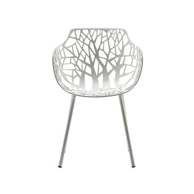 Tree Arm Chair Finish: White