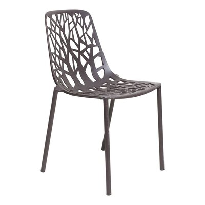 Tree Side Chair Finish: Black