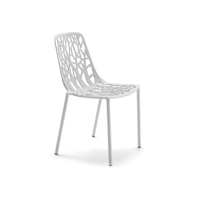 Tree Side Chair Finish: White