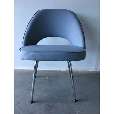 Eero Executive Metal Side Chair Upholstery: Gray