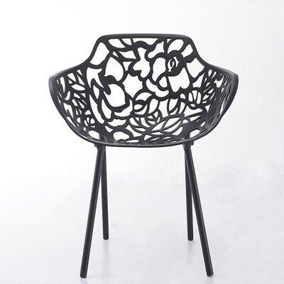 Tree Arm Chair Finish: Black
