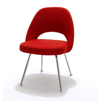 Executive Side Chair Upholstery: Red