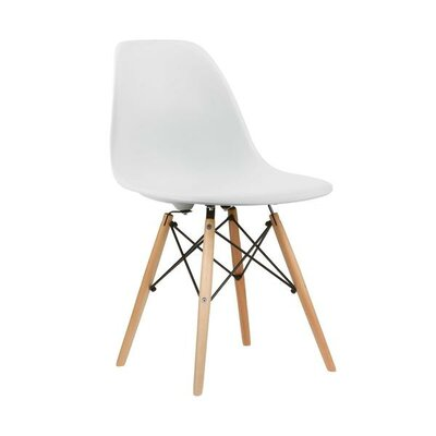 Eiffel Side Chair Finish: White