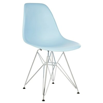 Eiffel Side Chair Finish: Light Blue