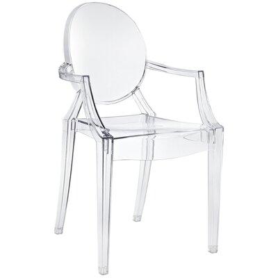 Mariela Clear Arm Chair