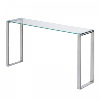 Irina Glass Narrow Console Table