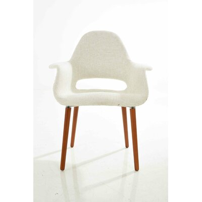Organic Armchair Upholstery: Beige