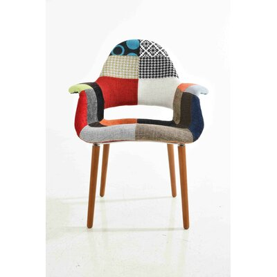 Organic Patchwork Arm Chair