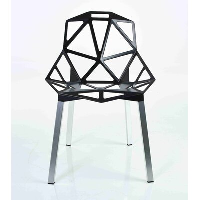 Web Side Chair Finish: Black