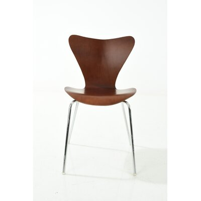 Jacobson Side Chair Upholstery: Walnut
