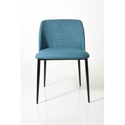 Polo Upholstered Dinning Chair Upholstery Color: Gray