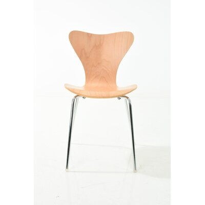 Jacobson Side Chair Upholstery: Natural