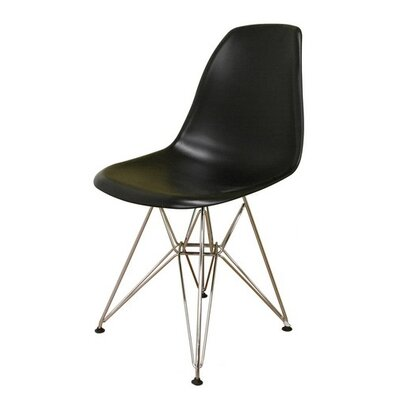 Eiffel Side Chair Finish: Black