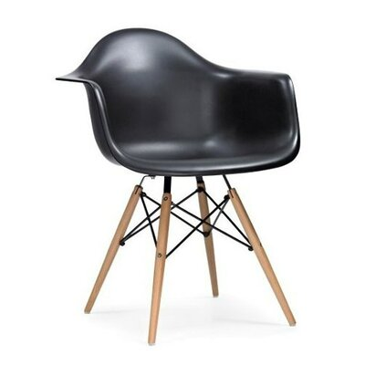 Eiffel Arm Chair Finish: Black