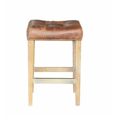 French 26 Bar Stool with Cushion