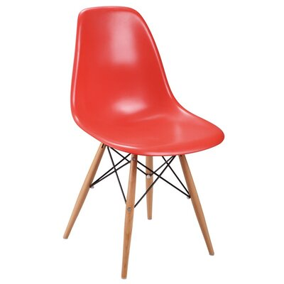 Eiffel Side Chair Finish: Red
