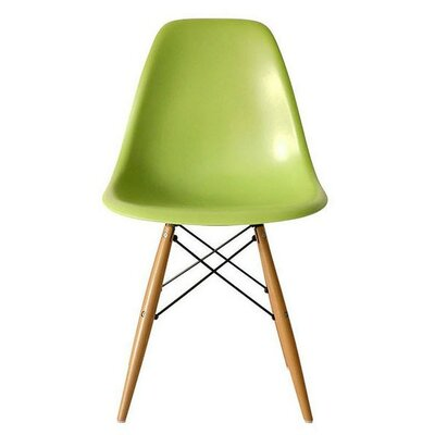 Eiffel Side Chair Finish: Green