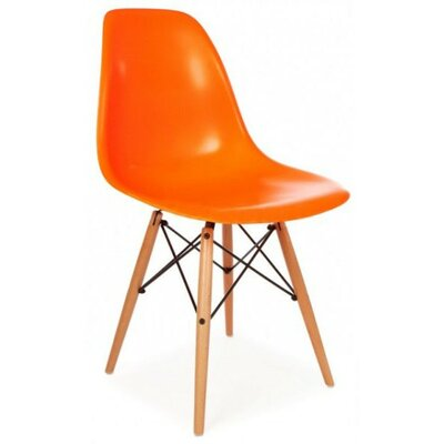 Eiffel Side Chair Finish: Orange