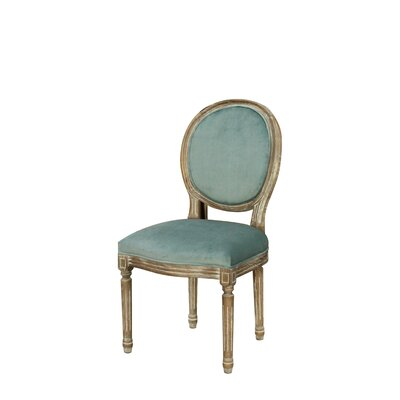 Galaxy French Oval Side Chair