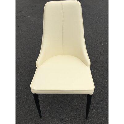 Bedoya Lebron Parsons Chair Upholstery: Beige