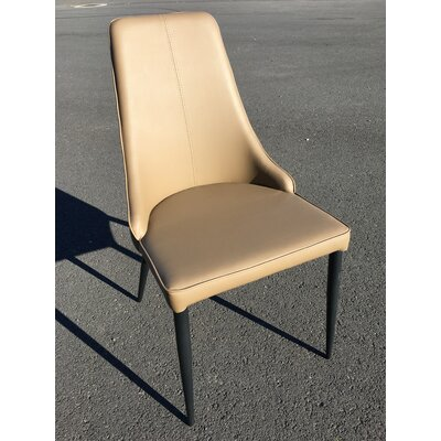 Mobler Side Chair Upholstery: Gray