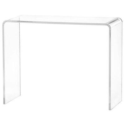 Peek Acrylic Console Table
