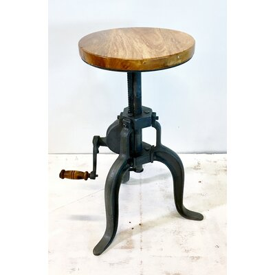 Crank Adjustable End Table