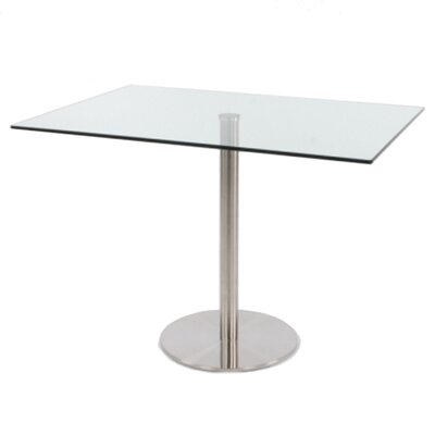 Chidi Bar Glass Pub Table