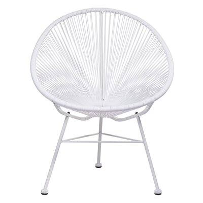 Bradley Papasan Chair Finish: White