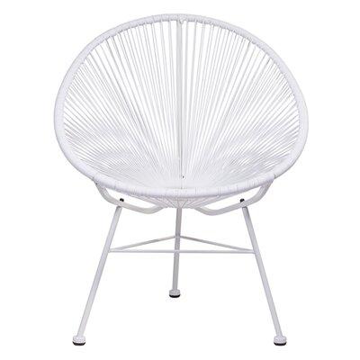 Bradley Papasan Chair Finish: White