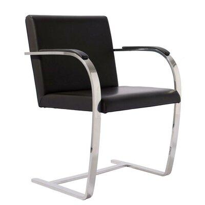 Flat Bono Armchair Upholstery: Black