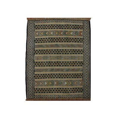 Caressa Handmade Brown/Black Area Rug