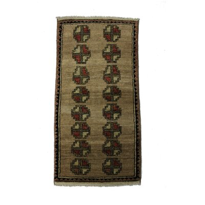 Andrade Handmade Brown Area Rug