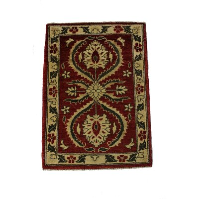 Rolland Handmade Red/Brown Area Rug