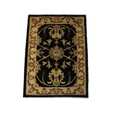 Rolland Handmade Black/Brown Area Rug