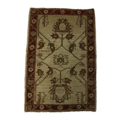 Ballinderry Handmade Red/Brown Area Rug